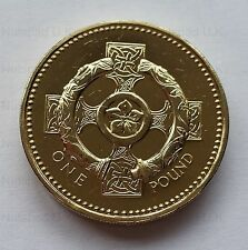2001  £1 coin Northern Ireland Celtic Cross BU Rare One Pound coin hunt
