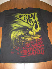 OBEY tee XL psychedelic boombox T shirt Andre Giant Posse skateboard eagle