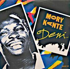 ++MORY KANTE deni/africa 2000 MAXI PROMO 1988 BARCLAY NM++