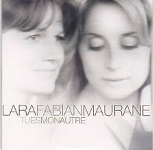 CD CARTONNE CARDSLEEVE LARA FABIAN et MAURANE 2T TU ES MON AUTRE  TBE