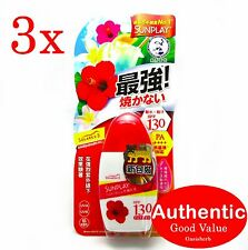 3X Mentholatum Sunplay Super Block SPF 130PA+++ (New!)