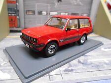 MONTEVERDI Safari SUV Geländewagen rot red 1976 - 82 NEO Resine Sonderpreis 1:43