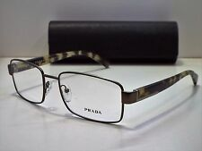 Authentic PRADA VPR53R TFQ-1Q1 Matte Grey Green Eyeglasses Frame DEMO MODEL $200