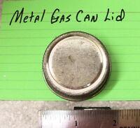 """1 3/4"""" Metal Gas Can lid Cap Gasoline Fuel Can Lid Cap Fits Gallon Can NOS"""