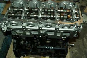 2006-2010 NISSAN NAVARA 2.5 DCi RECON ENGINE WITH DUPLEX CHAIN SUPPLIED & FITTED