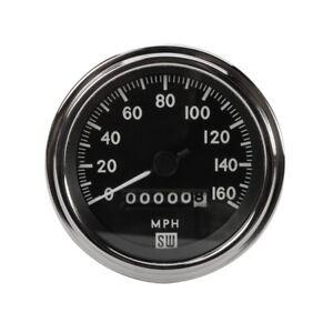 Stewart Warner 550BP-D Deluxe Speedometer, Mechanical, 3-3/8 Inch