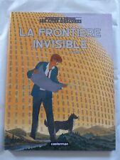 LES CITES OBSCURES n° 8 LA FRONTIERE INVISIBLE E.O 2002 SCHUITEN + COFFRET + C.D