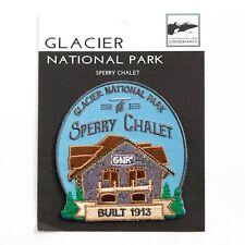 Official Glacier National Park Souvenir Patch Sperry Chalet Montana