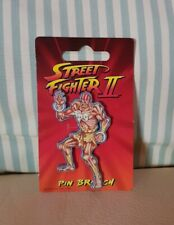 Dhalsim Street Fighter 2 II Brooch lapel pin badge Capcom 1991 Collector's item