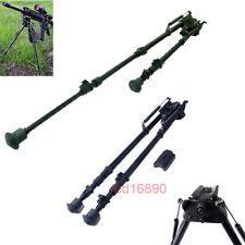 "Harris style 16""- 27"" 11 level adjust Spring return Rifle Bipod&20mm Rail Mount"
