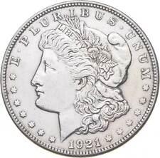 1921 Morgan Silver Dollar - Last Year Issue 90% $1.00 Bullion *761