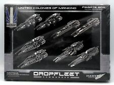 Dropfleet Commander HDF31003 United Colonies of Mankind Frigate Box UCM Ships