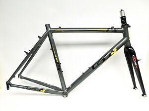 2009 GT GTR Racing CX Cyclocross Frameset Kinesis Easton EC70X Carbon Fork Large