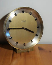 Elektromechanische Kienzle Tisch Uhr  - 60's mid century clock - vintage 60er