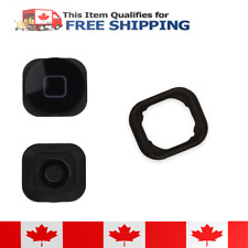 iPod Touch 5 Black Home Button With Rubber Gasket