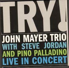 JOHN MAYER Trio TRY 11 track CD Digipack LIVE Steve Jordan PINO PALLADINO