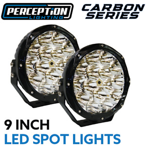 "Carbon Series 9"" LED Spot Lights Perception Lighting"