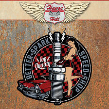 Better Spark Speed Hot Rat Rod Sticker Vintage Retro Classic Car Pinup Decal