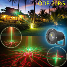 Xmas Outdoor Laser Projector New RG 20 Full Gobo Event Yard Landscape Light