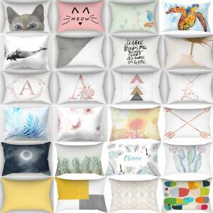 30*50cm Rectangle Cushion Cover Pillow Case Throw Pillows Covers Pillowslip Deco