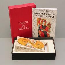 TAROT JACQUES VIEVILLE  *NEW DECK & BOOK SET -  REPLICA 17th CENTURY TAROT - NIB