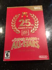 SUPER MARIO ALL-STARS Sealed NEW Nintendo Wii Limited Special Edition Box Wear