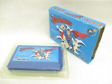 Famicom SUPERMAN Super Man No Instruction bdn Nintendo Japan Boxed Game fc
