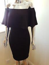 Unbranded Ladies Off The Shoulder Dress In Black Size 12
