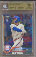 2018 Topps Chrome Update Rhys Hoskins Phillies RC Rookie BGS 10 PRISTINE ON 🔥🔥
