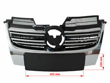 Für VW Jetta III 1K 2005-2010 Kühlergrill Sportgrill Gitter Grill Chrom passend