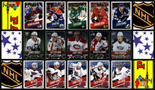 2014-15 Panini 14-15 NHL Hockey Stickers Complete Set of 500 w/SPs MacKinnon RC