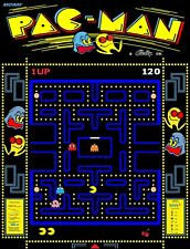 """TIN SIGN """"Pac Man"""" Video Games Signs  Rustic Wall Decor"""