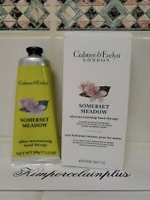 Crabtree & Evelyn Somerset Meadow Ultra Moisturising Hand Therapy 3.5 Oz Boxed