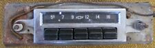 1955 1956 1957 Chevrolet Chevy 5 push button car OEM radio GM Delco