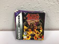 NO GAME Altered Beast Gaurdian of the Realms GBA Gameboy Advance Empty Box
