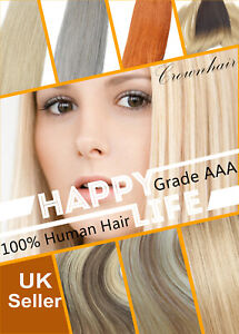 115g-Full Head Human Remy Hair Weave Weft Hair Extensions- Weaves-Double Weft
