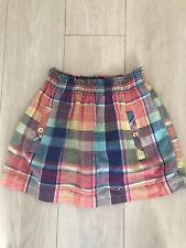 CHECK SHORT SKIRT PLEATED S TOWIE BOHO GLAM HOLLISTER PRETTY GLAM CASUAL SUMMER