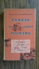 1963 Yankee Hill Country Cooking Hardcover Cookbook Heirloom Dust Cover Jacket
