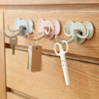 Holder Wall Shelf Rack Hook Home Storage Organizer Bathroom Kitchen AccessoWTUS