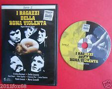 raro dvd i ragazzi della roma violenta renato savino gino milli emilio locurcio