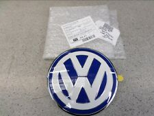 Genuine Volkswagen VW Beetle Front Bonnet Badge1999>2005 Blue&White 1C085361739A