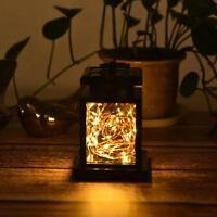 Solar LED Gartenlicht Laterne Hängeleuchte Wasserdichte Außenleuchte Dekorative