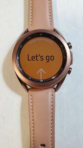 Samsung Galaxy Watch 3 41mm (Bluetooth + WiFi) SM-R850 Rose Gold, Mint Cond, 009