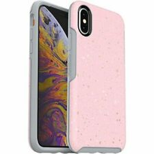 Genuine OtterBox SLEEK Case Cover For Apple iPhone X / Xs - ON FLECK PINK