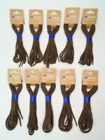 10 x Genuine BERGHAUS 140cm Hiking Boot Laces in Brown Brasher Sealed Ten Pack
