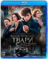 Fantastic Beasts and Where to Find Them (Blu-ray) Eng,Russian,French,Spanish,Cze
