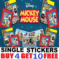 PANINI MICKEY MOUSE STORY STICKER COLLECTION  Single Stickers BUY 4 GET 10 FREE!