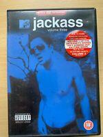 Jackass Volume 3 DVD 2002 Originale Mtv Acrobazie Commedia TV