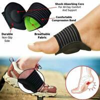 Foot Arch Support Plantar Cushion Fasciitis Aid Fallen Arches Heel Ankle Brace