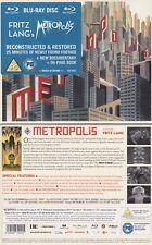 Metropolis [Blu-ray] UK-Version mit DEUTSCHEN TON  * NEU & OVP * KLASSIKER!